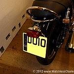 Lucas 564 tail light on a Triumph Bonneville SE