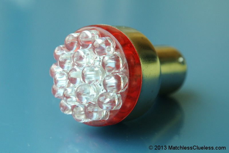 6v extra bright red LED stop and tail