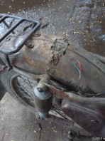 Mudguard repairs