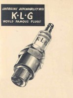 KLG spark plug equivalents