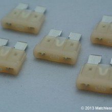 25 Amp ATO blade fuses (pack of 5)