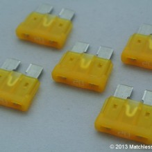 20 Amp ATO blade fuses (pack of 5)