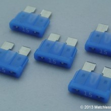 15 Amp ATO blade fuses (pack of 5)