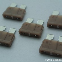 5 Amp ATO blade fuses (pack of 5)