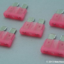 4 Amp ATO blade fuses (pack of 5)