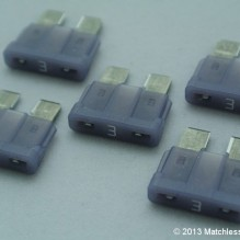 3 Amp ATO blade fuses (pack of 5)