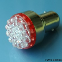 6v extra bright red LED stop and tail light