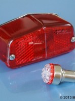 6v Lucas 564 LED stop and tail light