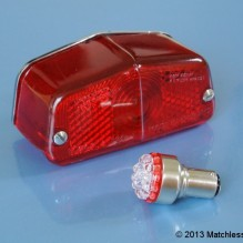 6v Lucas 564 LED stop and tail light