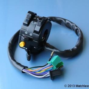 Multi-purpose motorcycle lighting switch