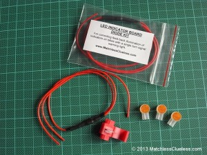 The MatchlessClueless LED indicator diode kit